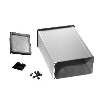 Shielded Extruded Aluminum Enclosure - 6.3x4.1x2.2 Clear