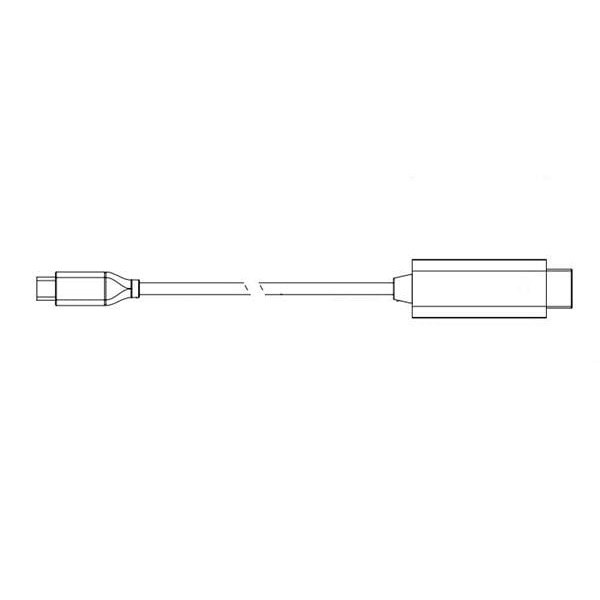 HDMI Male to USB Type-C, 3FT
