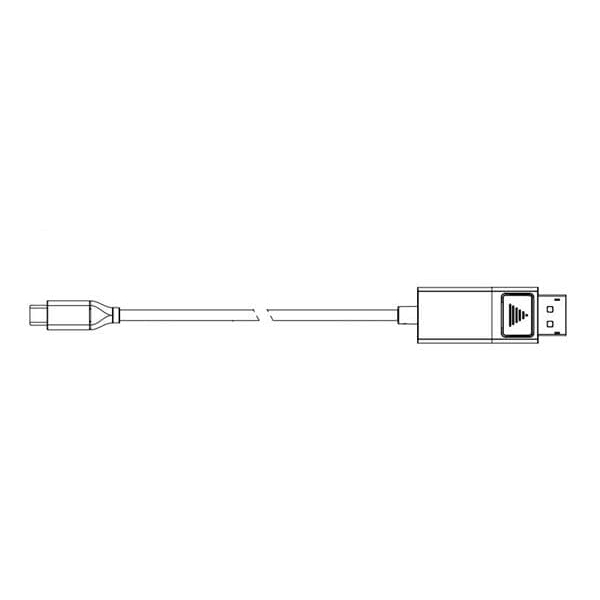 DisplayPort Male to USB Type-C, 6FT