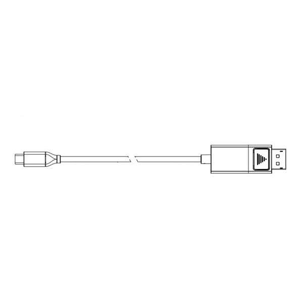 DisplayPort Male to USB Type-C, 10FT