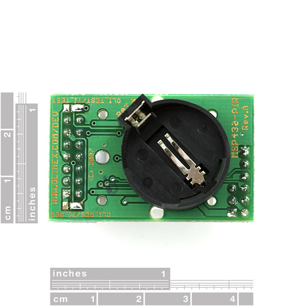 Motion Detection Module - MSP430F2013