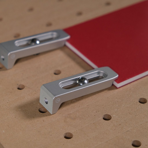 Gator Tooth Clamps - Anodized Aluminum