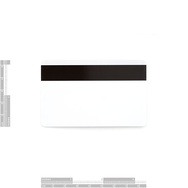 Magnetic Card Blank - High Coercivity