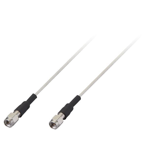 High Performance mmWave Cable Assembly (Rated to 26.5GHz) with 609mm (24″) RG-405 and 2.92(M) x 2.92(M) Connectors