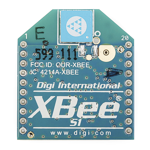 XBee 1mW Chip Antenna - Series 1 (802.15.4)