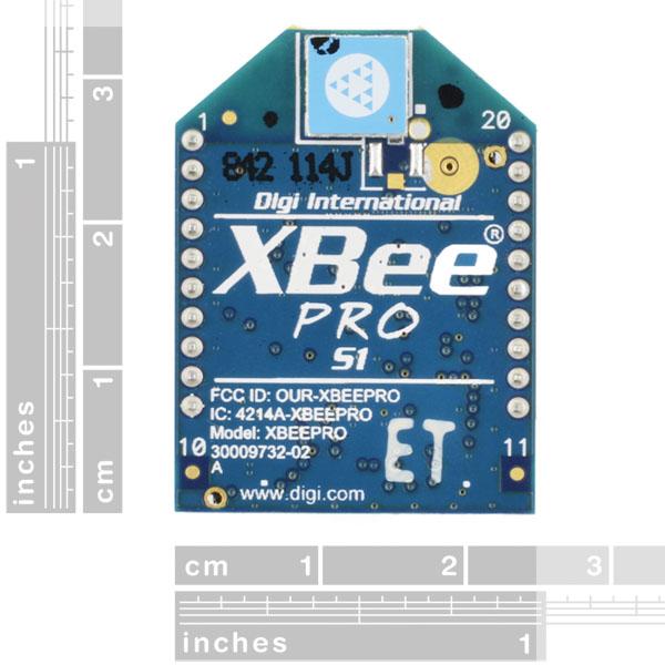 XBee Pro 60mW Chip Antenna - Series 1 (802.15.4)
