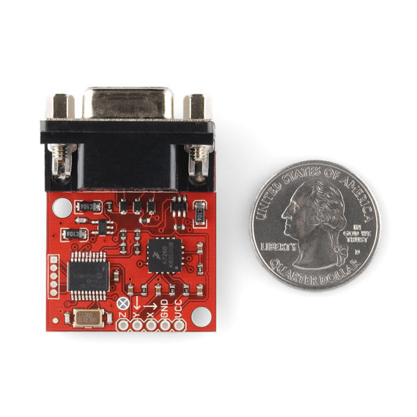 Serial Accelerometer Tri-Axis - Dongle