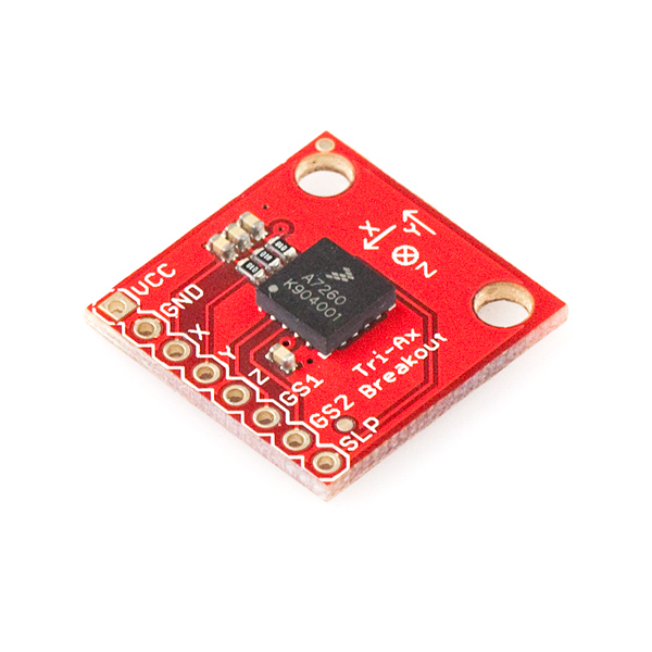 Triple Axis Accelerometer Breakout - MMA7260Q