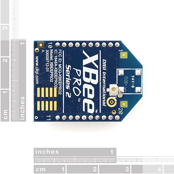 XBee Pro 50mW Series 2.5 U.FL Connection