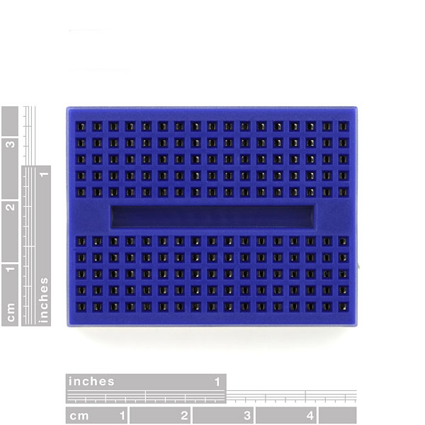 Breadboard - Mini Self-Adhesive Blue (Sale)