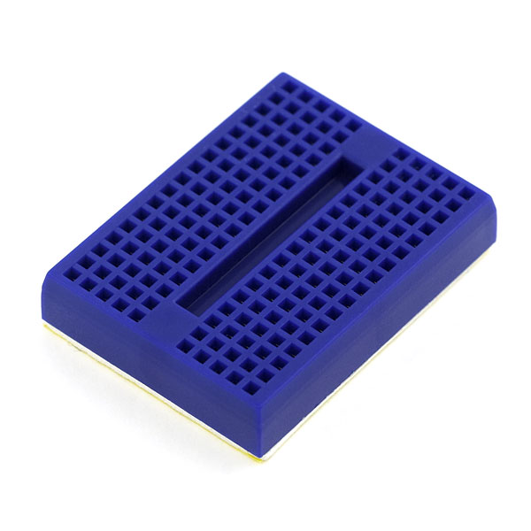 Breadboard - Mini Self-Adhesive Blue (Sale)