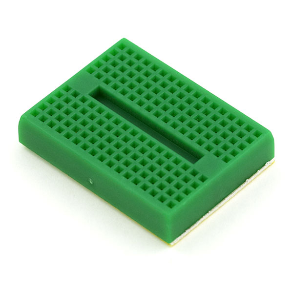 Breadboard - Mini Self-Adhesive Green (Sale)