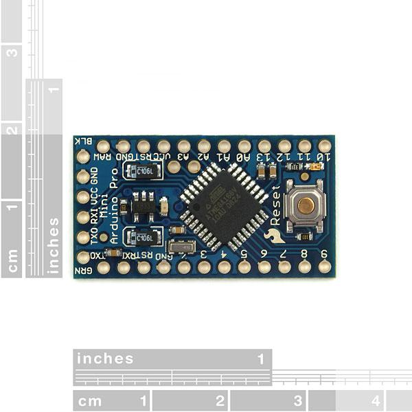 Arduino Pro Mini 168 - 3.3V/8MHz