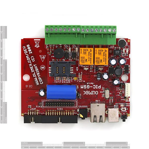 PIC GSM Cellular Development Board