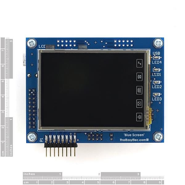 "Development Platform for LPC2378 2.8"" TFT"