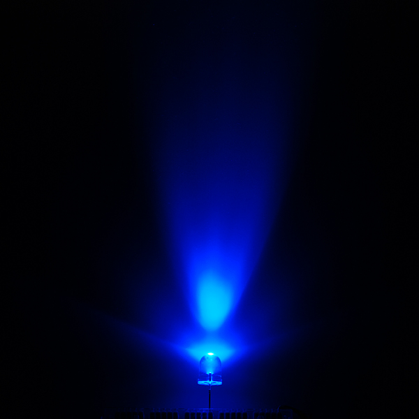 Super Bright LED - Blue 10mm