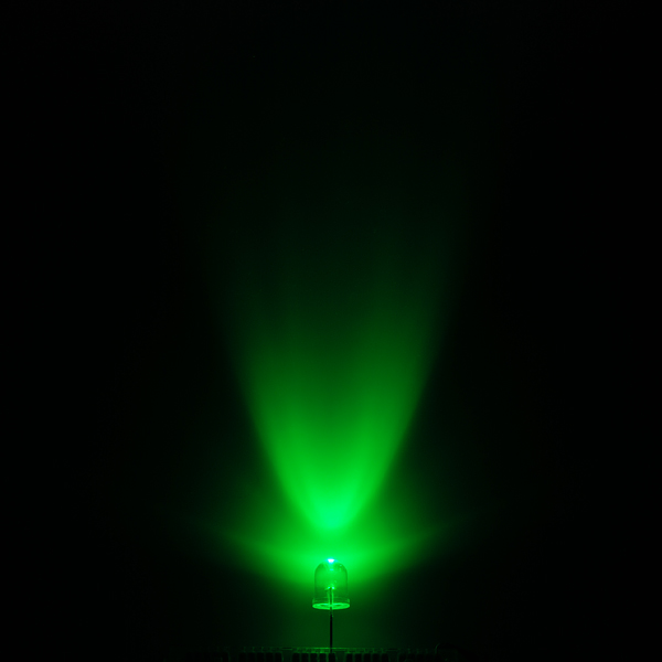 Super Bright LED - Green 10mm