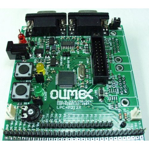 Prototyping Board for LPC2124