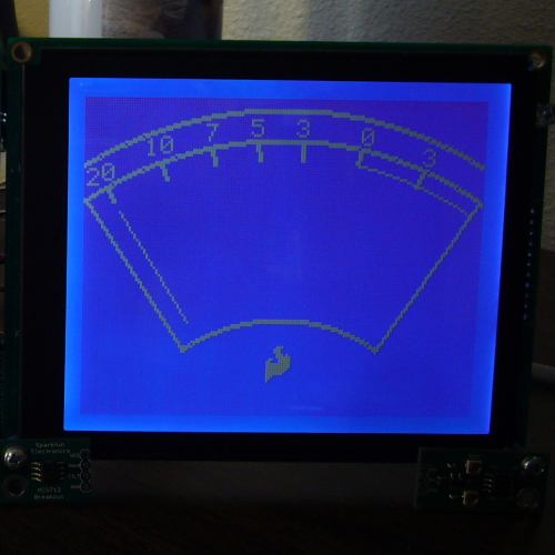SparkFun Serial Graphic LCD 160x128