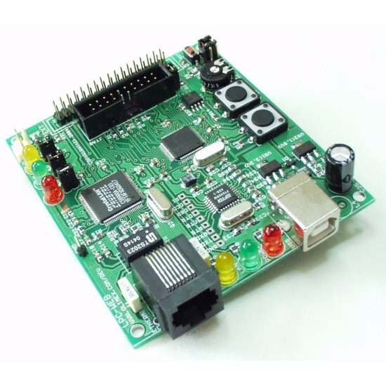 Web Interface Board for LPC2124 w/ USB