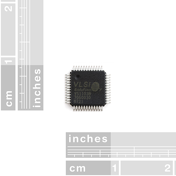 Audio Codec IC - VS1103B