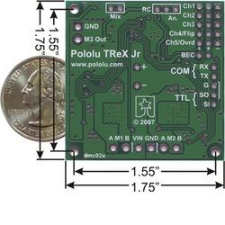Motor Controller - Pololu TReX Jr.