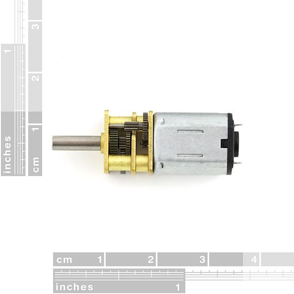 Micro Metal Gearmotor 100:1 (Sale)