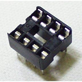 DIP Sockets Solder Tail - 8-Pin