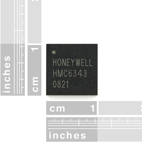 Compass with Tilt Compensation - HMC6343
