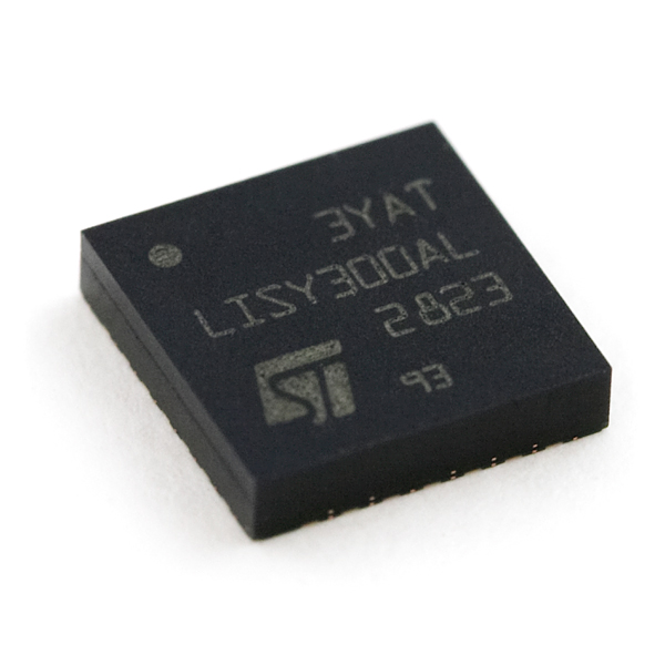 Single Axis MEMS Gyroscope - LISY300AL