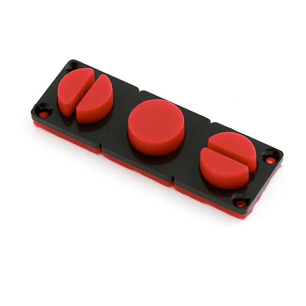 Mini Button Pad Set - Red