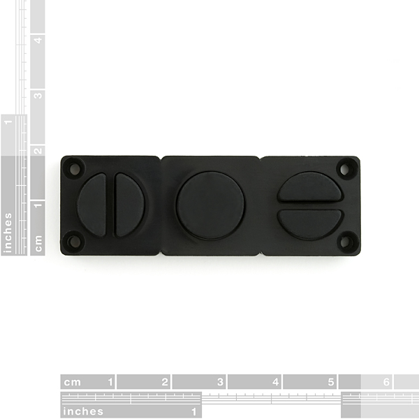 Mini Button Pad Set - Black