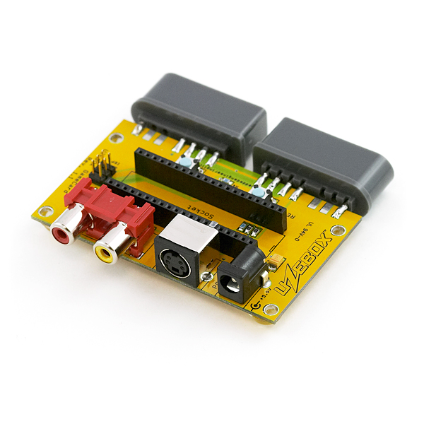 Uzebox GameCard Baseboard