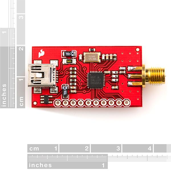 SparkFun Tranciever Breakout - nRF24LU1+ (RP-SMA)