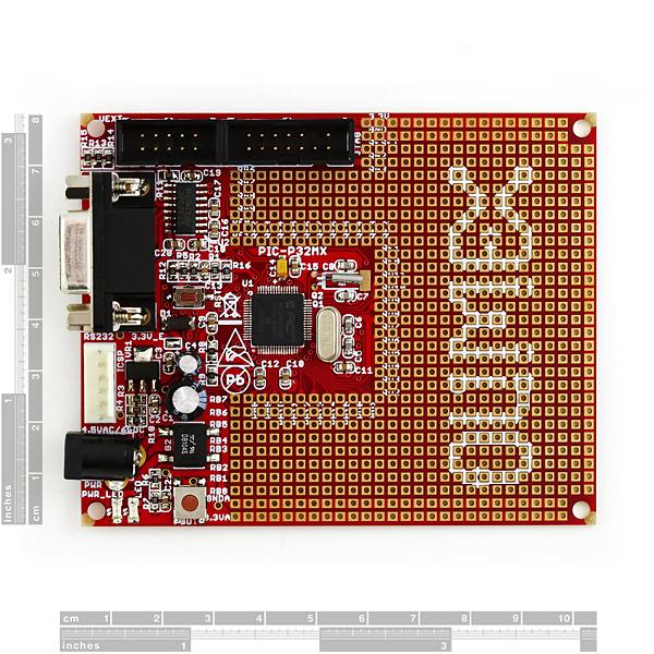 Development Board for PIC32MX340F512