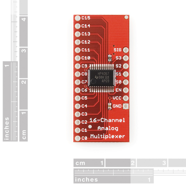 SparkFun Analog/Digital MUX Breakout - CD74HC4067