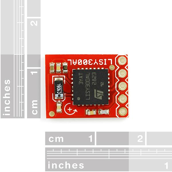 Gyro Breakout Board - LISY300AL 300°/s
