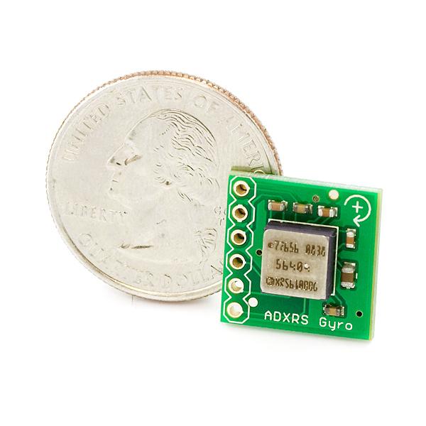Gyro Breakout Board - ADXRS610 - 300°/s