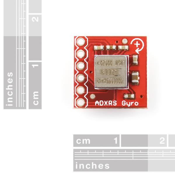 Gyro Breakout Board - ADXRS613 - 150°/s