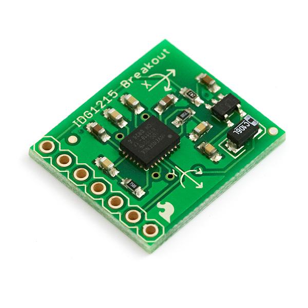 Gyro Breakout Board - IDG1215 Dual 67°/s