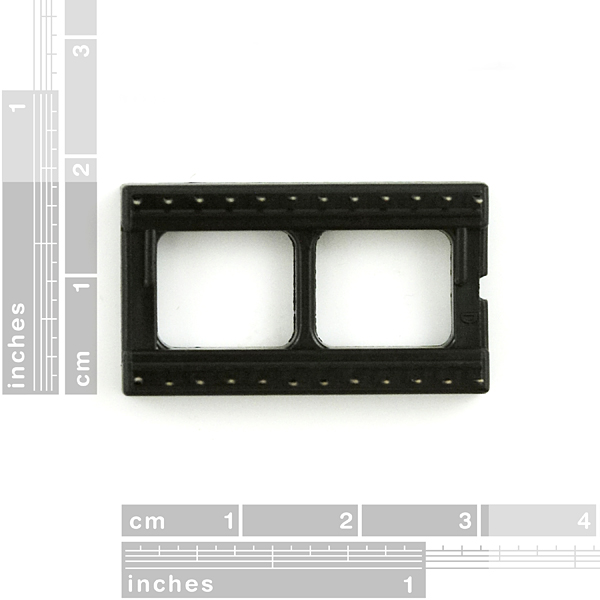 "DIP Sockets Solder Tail - 24-Pin 0.6"""