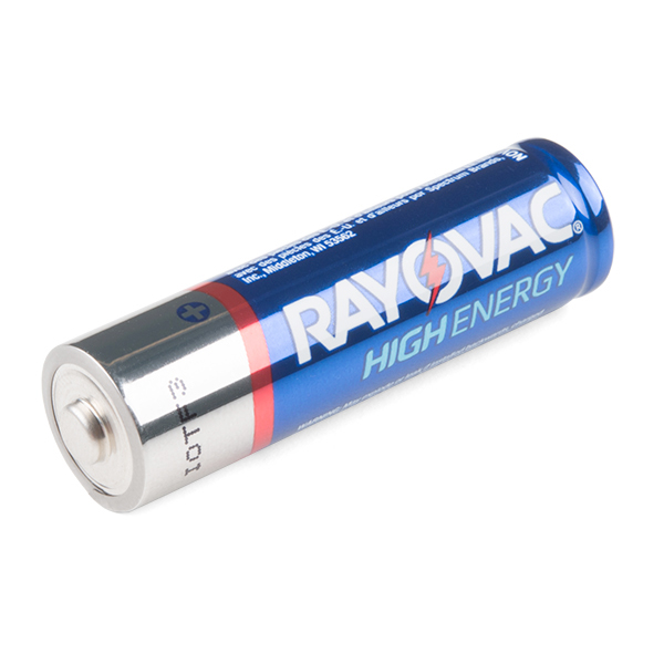1500 mAh Alkaline Battery - AA