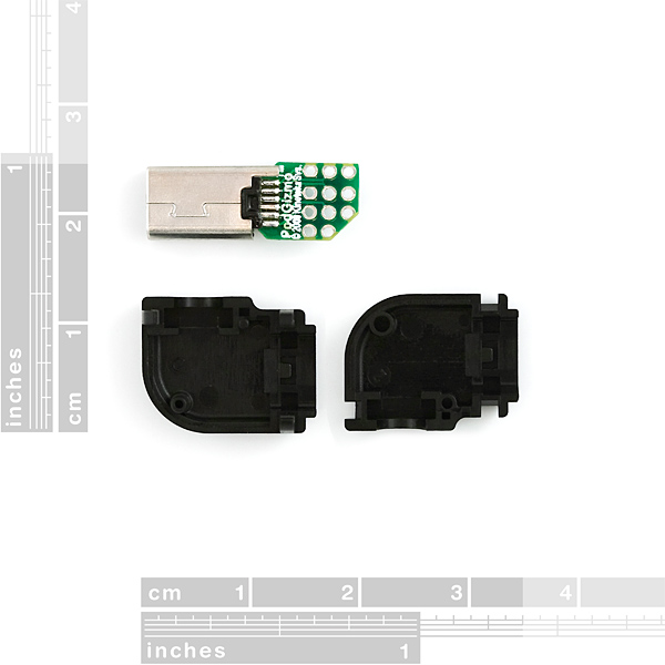 HTC ExtUSB 11 Pin USB Connector with Breakout