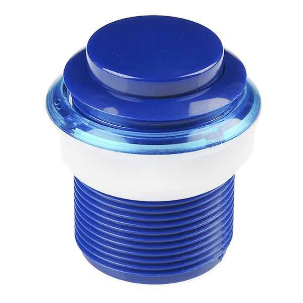 Pushbutton 33mm - Blue
