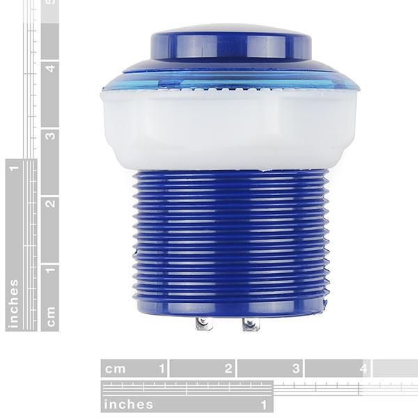 Pushbutton 33mm - Blue