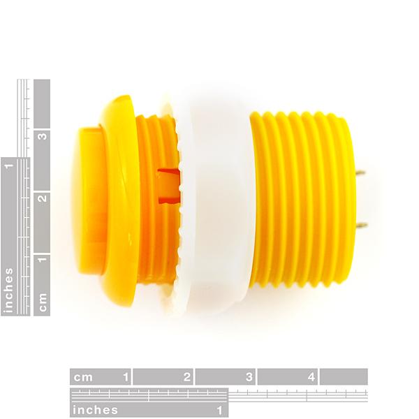 Pushbutton 33mm - Yellow