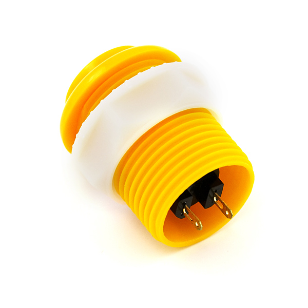 Pushbutton 33mm - Yellow