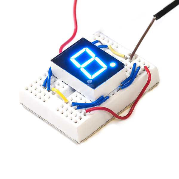 7-Segment Display - LED (Blue)