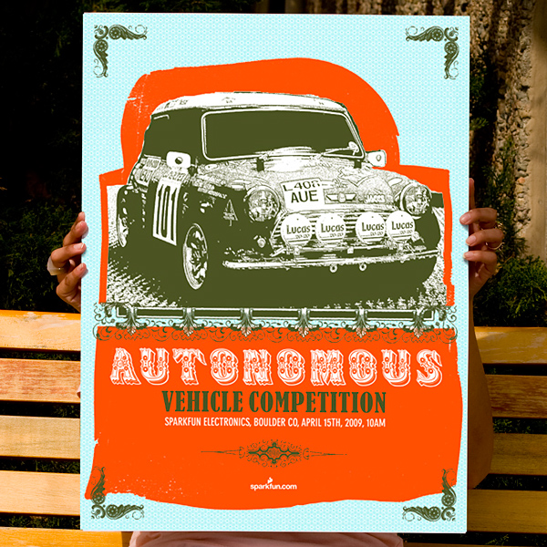 Autonomous Vehicle Competition Poster 2009