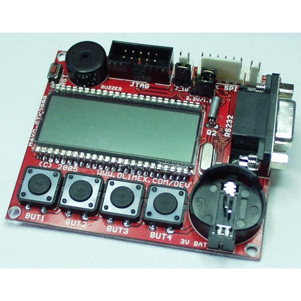 Evaluation Board with LCD for MAX2000-RAX